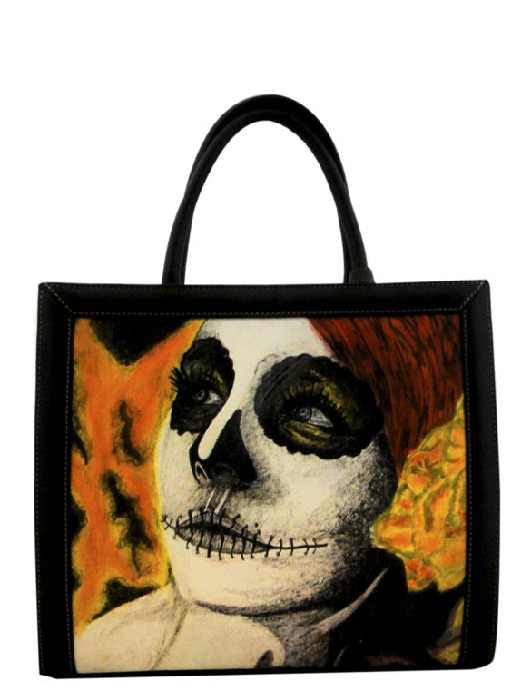 two-face-handmade-leather-tattoo-catrina-bagbig
