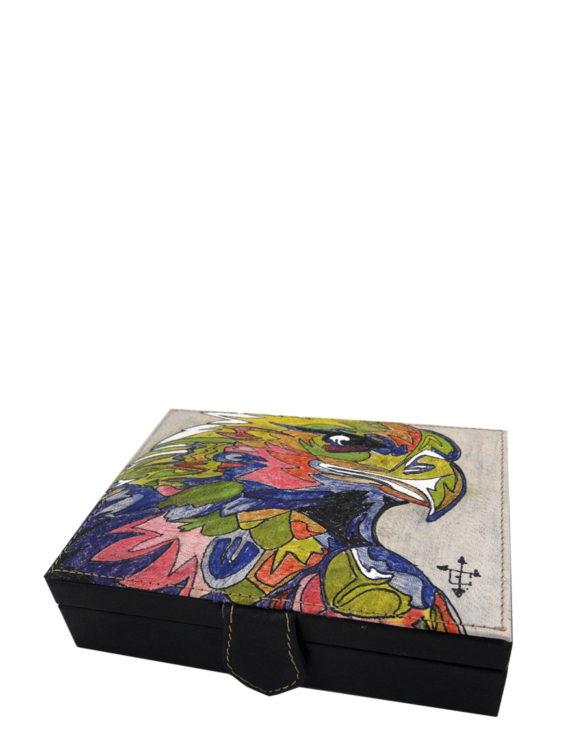 cards-handmade-leather-tattoo-eagle-box
