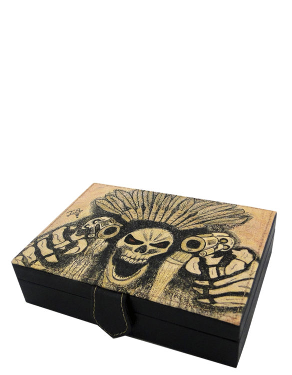 cards-handmade-leather-tattoo-skull-box