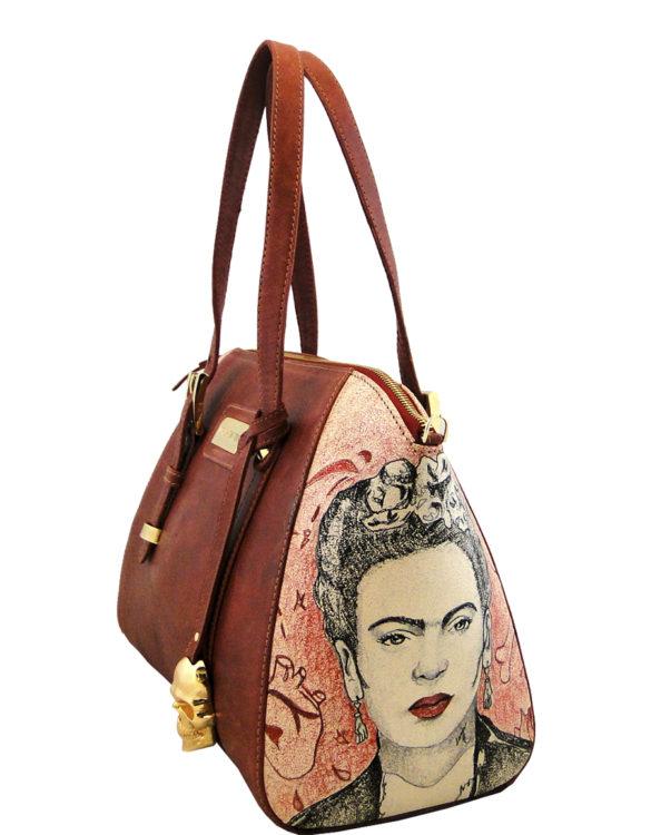 Peony handmade leather tattoo Frida3