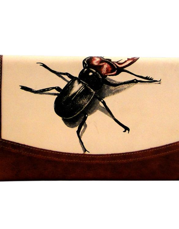 Jalisco handmade tattoo beetle big cluth