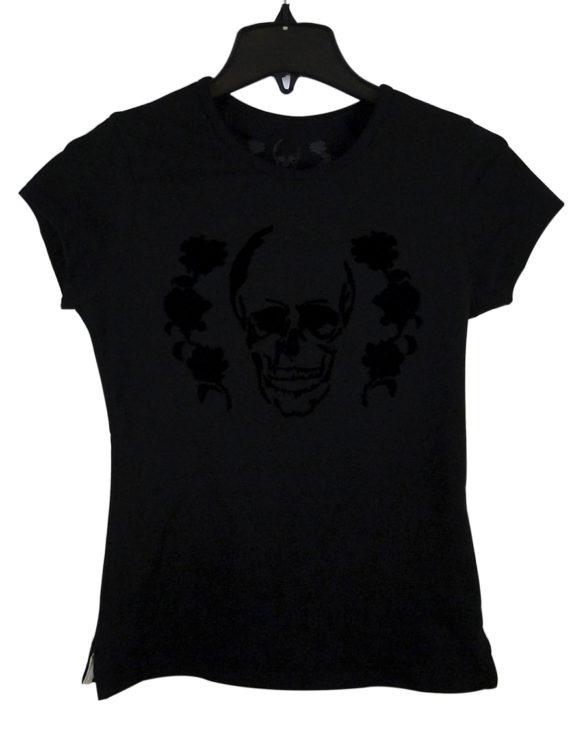 Prison Art black logo shirt woman